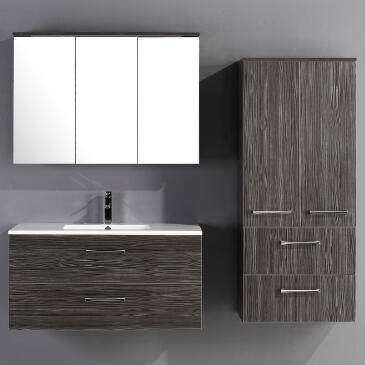 Goldea Bathroom Cabinet SYRINX YBC 141-100