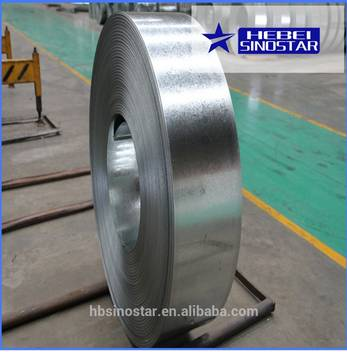 China steel strip exporter best price DX51D SPCC Z120 Hot Dipped Galvanized Steel Strips
