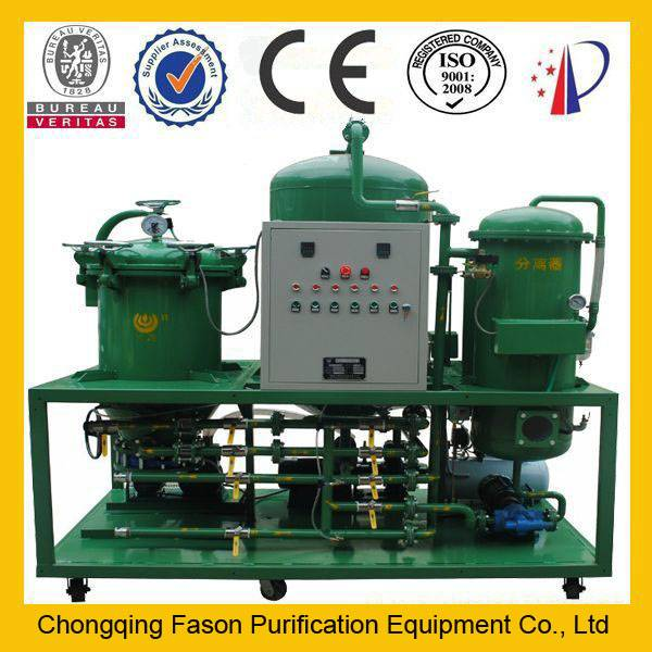 DTS High degree of purification vacuum transformer oil recycling machine