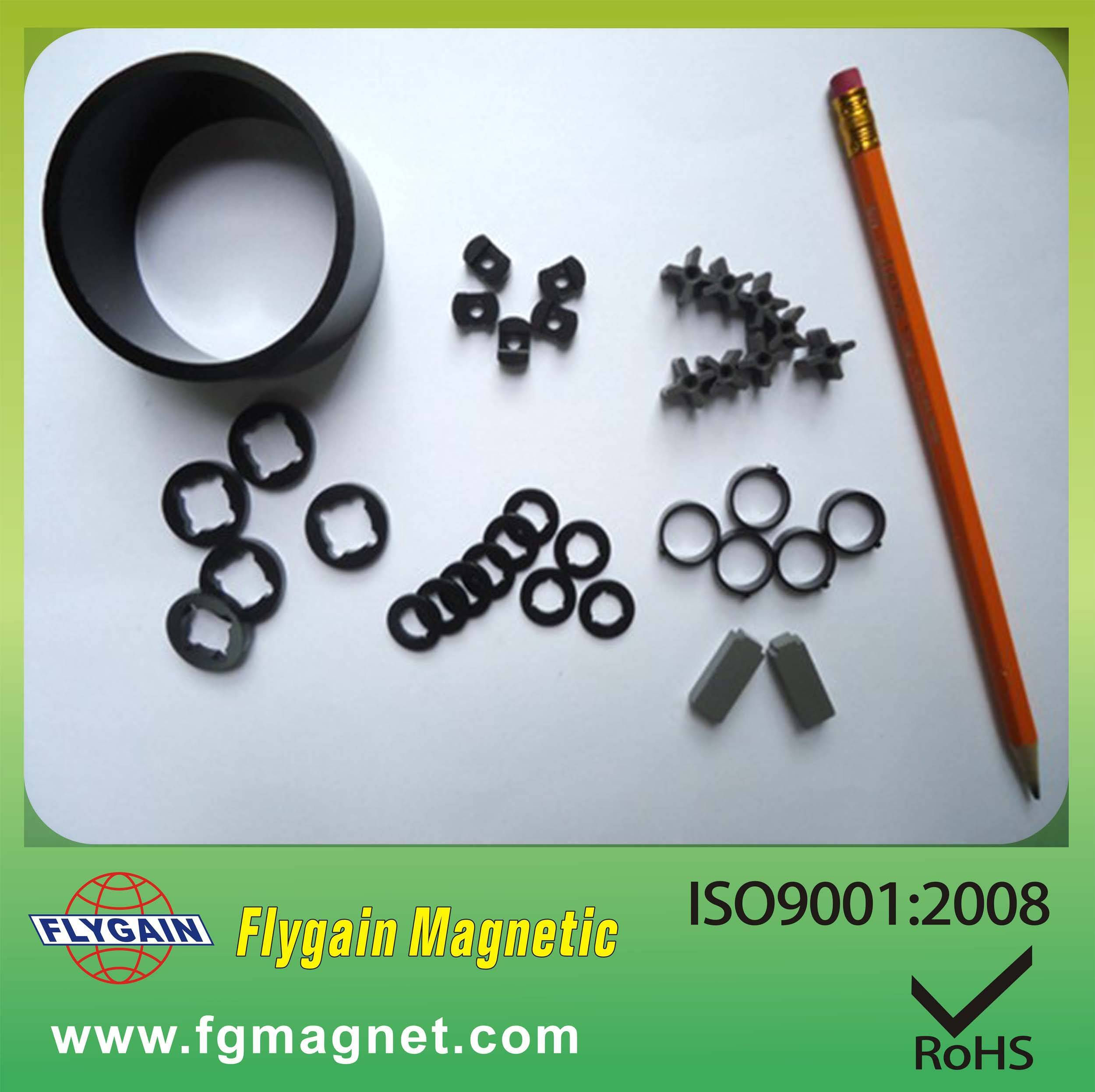 Injection/Bonded NdFeB Magnet Ring