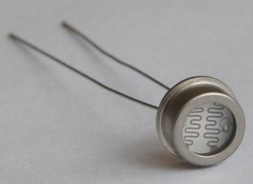 6.5mm metal LDR photoresistor science research