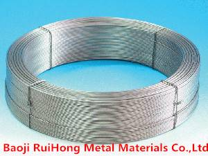 Gr5 Titanium Wire For Industrial And Medical Use