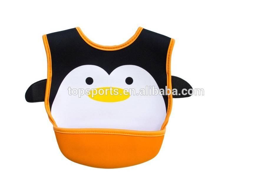 Wholesale eco-friendly neoprene baby item, baby bibs