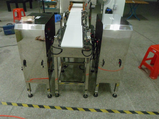 Combine Metal Detector with Check Weigher