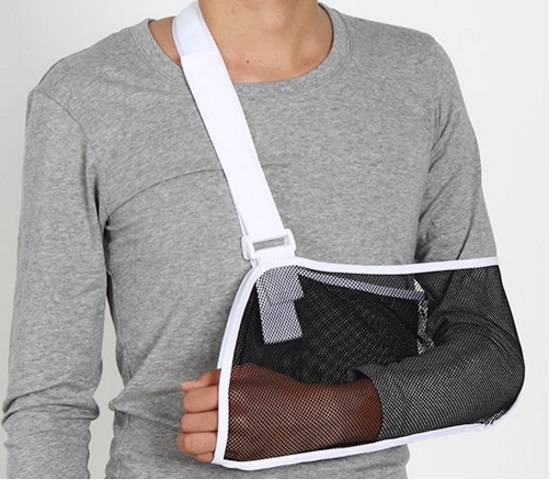 mesh arm fracture Orthopedic Medical Arm Support or Arm brace