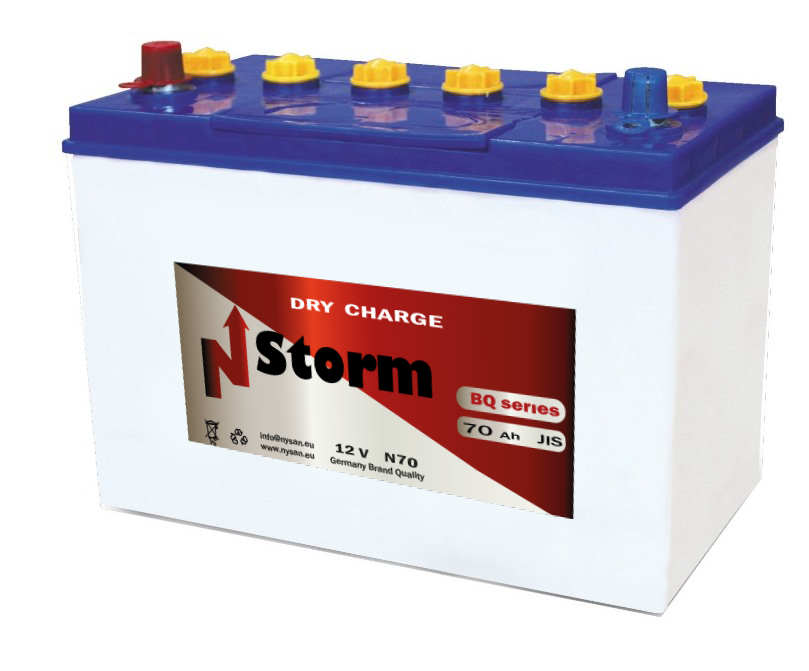 N-Storm Dry Charge Batteries