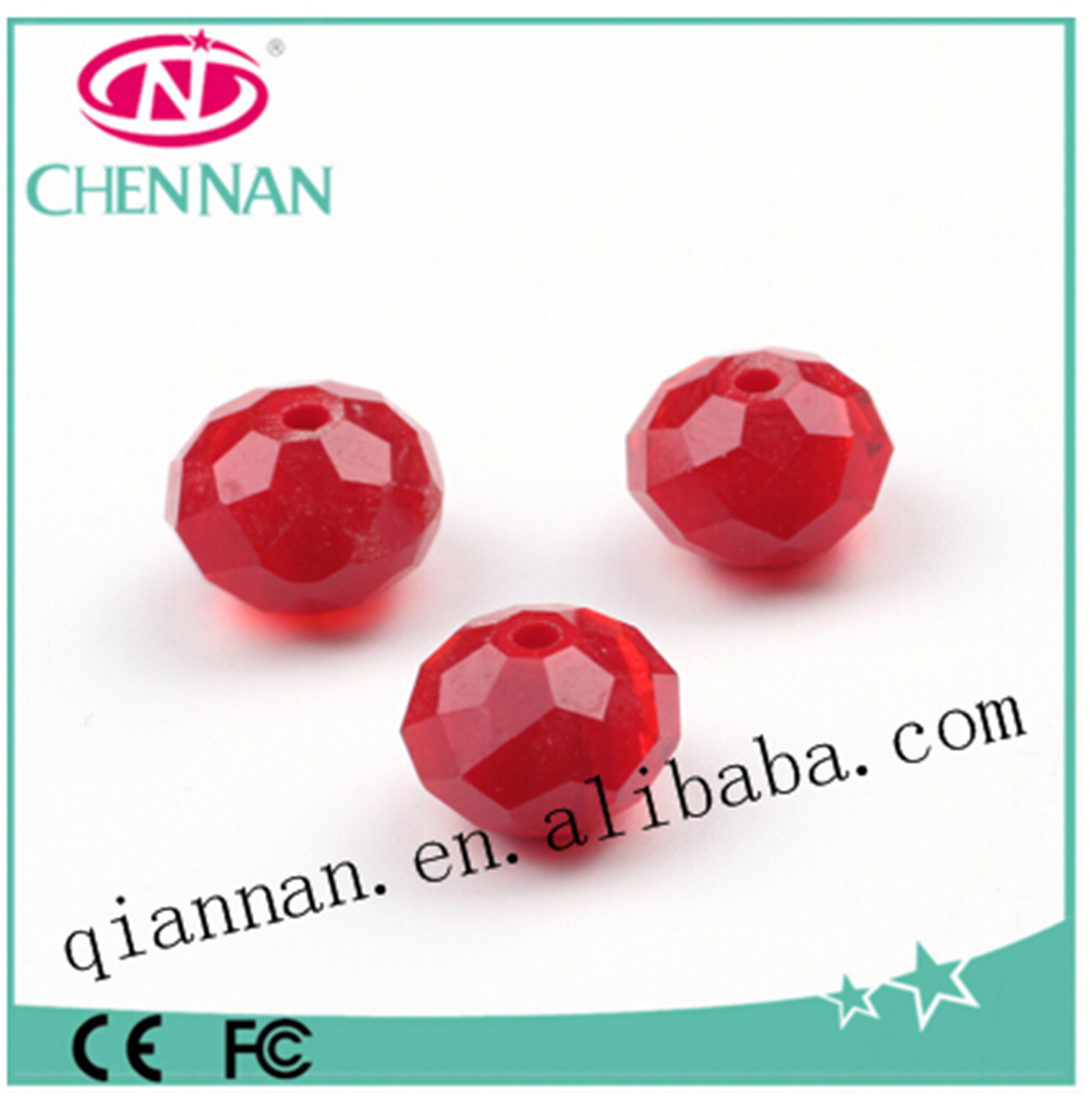 pujiang factory direct sale Cheap czech glass gemstone rondelle beads