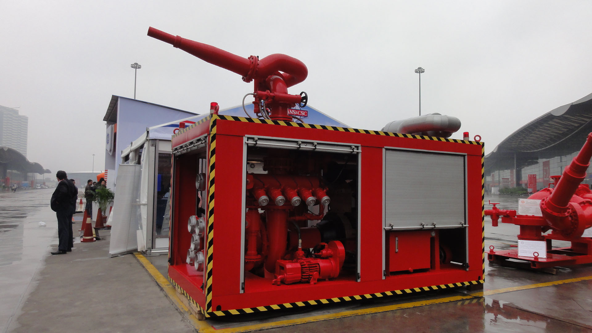 Containizer Fire Fighting Fifi 3/ Firefighting 1 And 2 (Advanced Technic FIFI Systems FiFi I/FiFi II