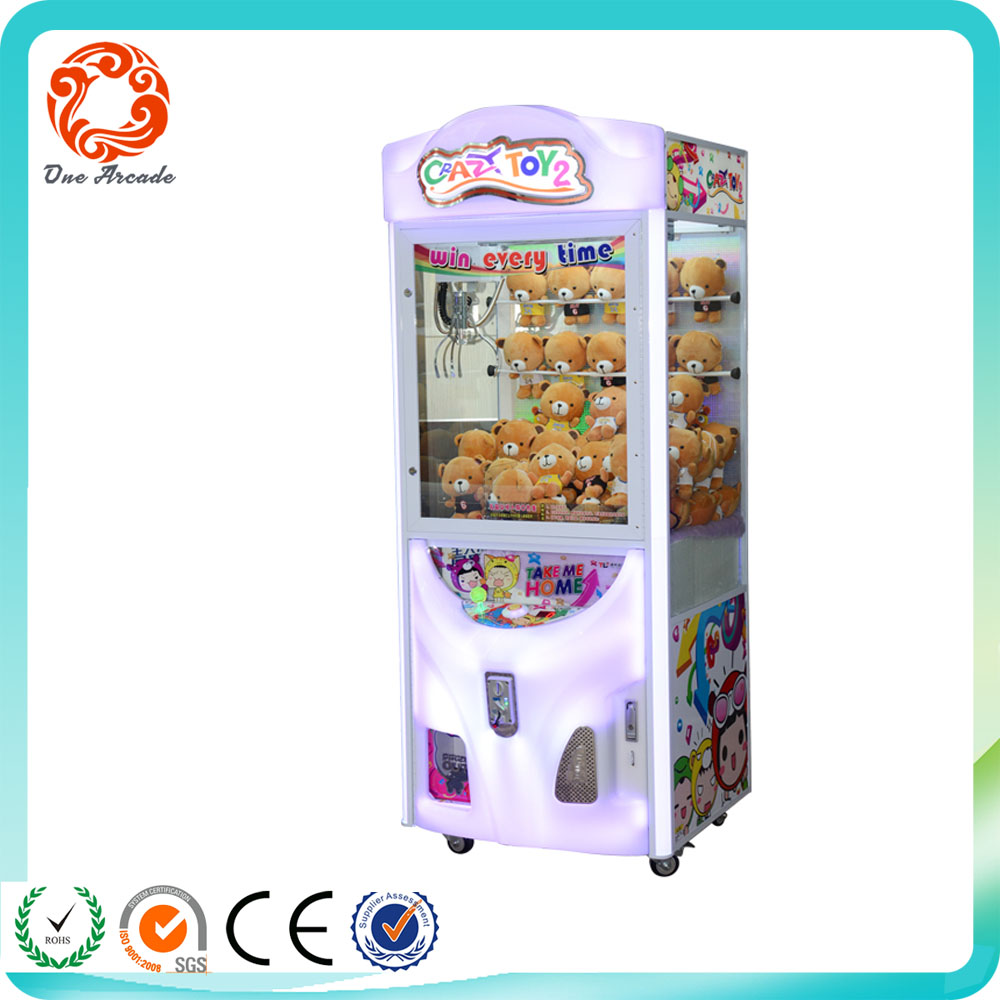 High Quailty reliable and cheap coin push Gift game machine