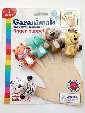Animal Head Finger Puppets