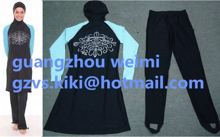 Long Sleeve Avaialble Swimwears For Muslimah Women