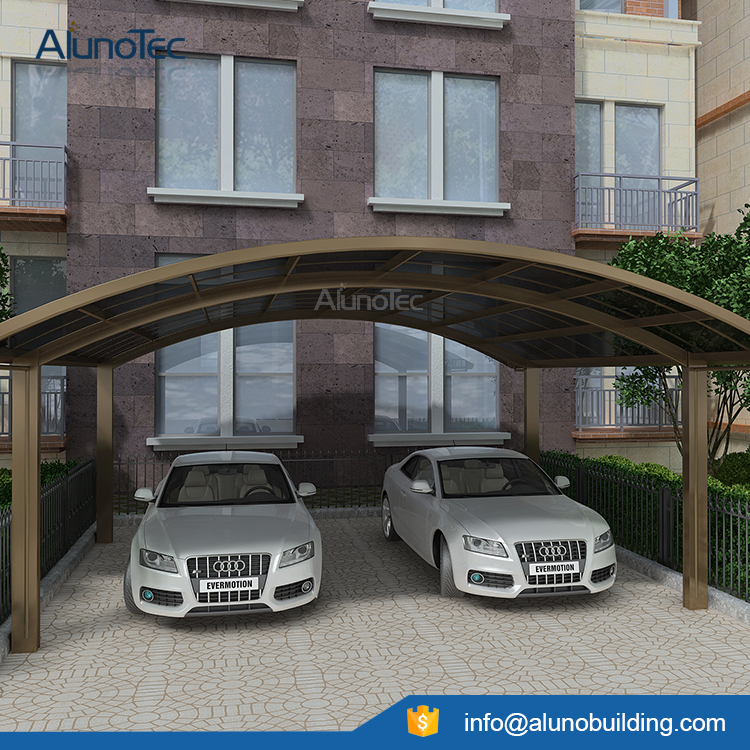 Aluminum Polycarbonate Carport Canopy With Modern Design