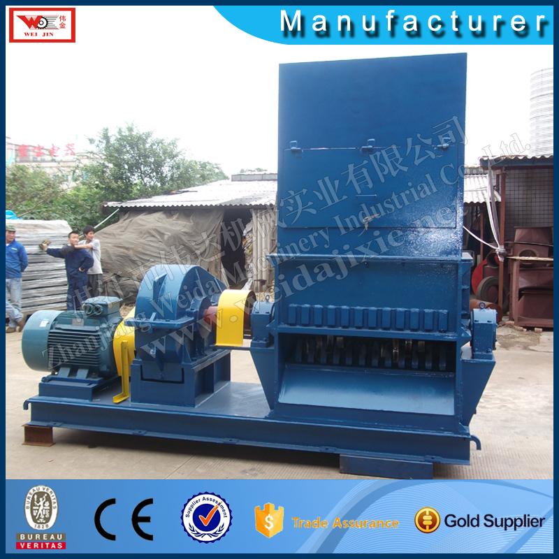 tyre crusher machine tire cutting machine sugar cane crusher