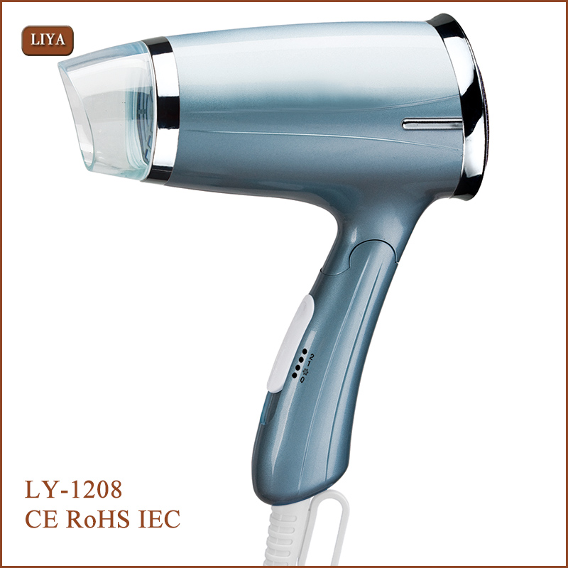 Powerful Safe Portable Hair Dryer For Travel Use