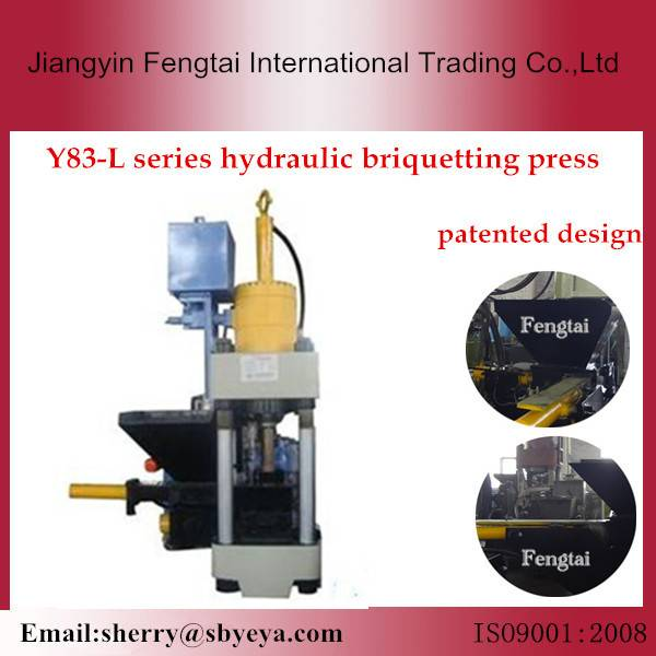 high pressure metal chipping press machine