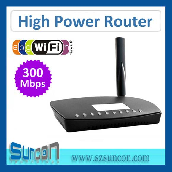 802.11a/b/g/n 300mbps High Power Router