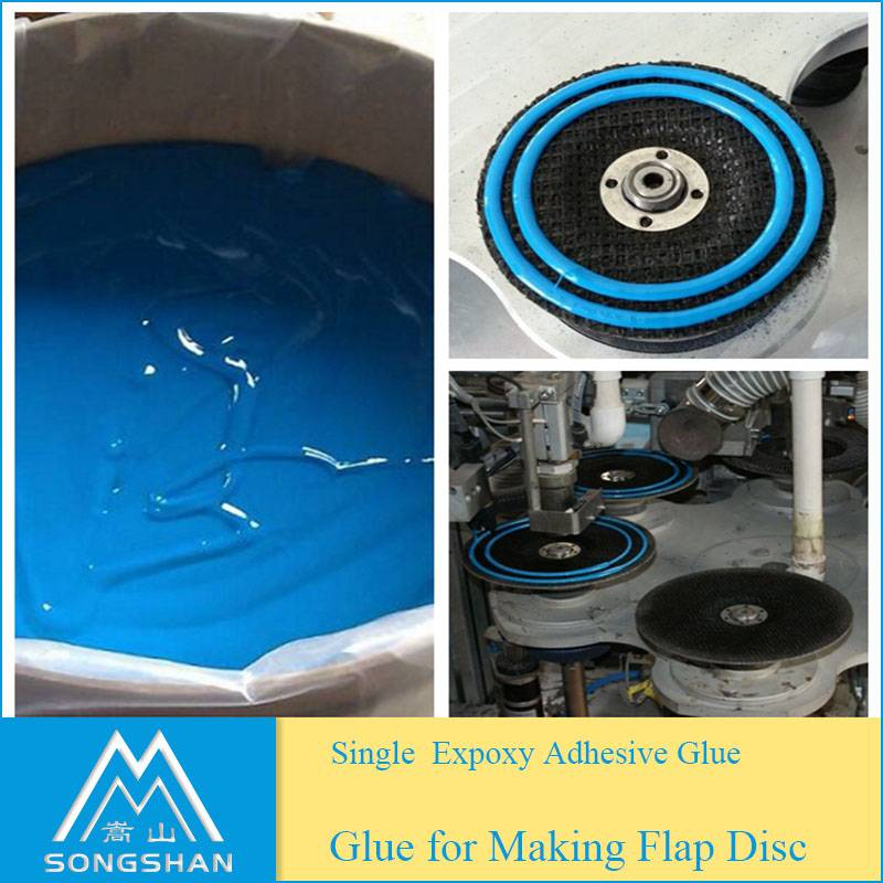 Good performance one component epoxy resin glue for flap disc machine use