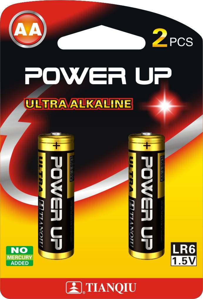 TianQiu LR6 dry Battery, Alkaline battery, AA battery