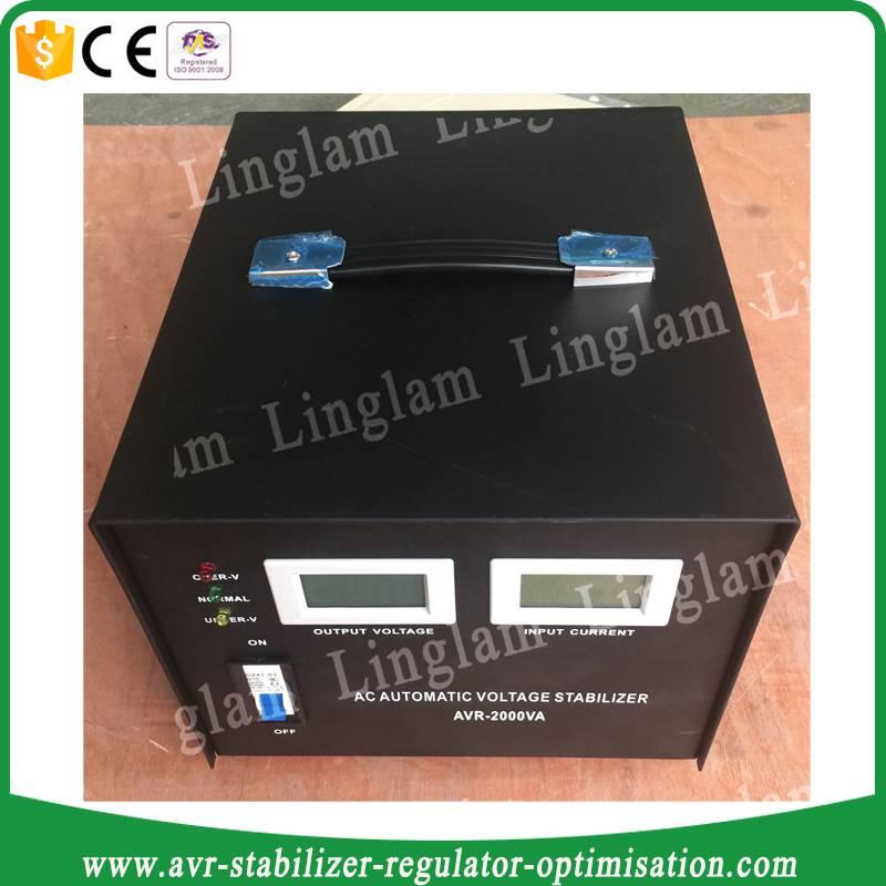 2000watt single phase ac voltage stabilizer