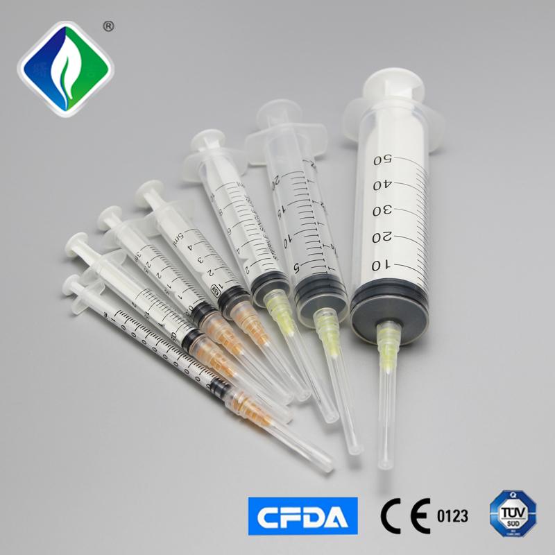 Medical disposable syringe