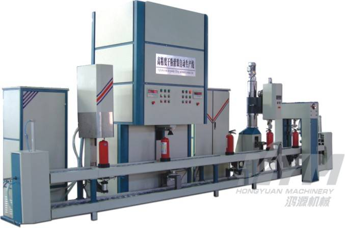High-precision dry powder automated filling product line