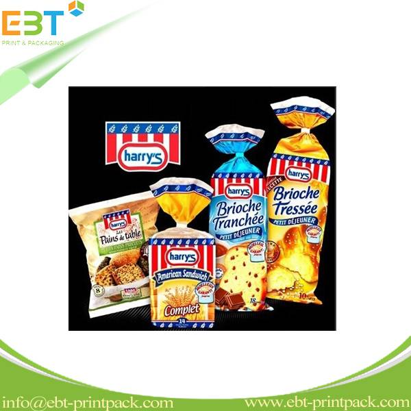 Plastic packaging bags for food packing