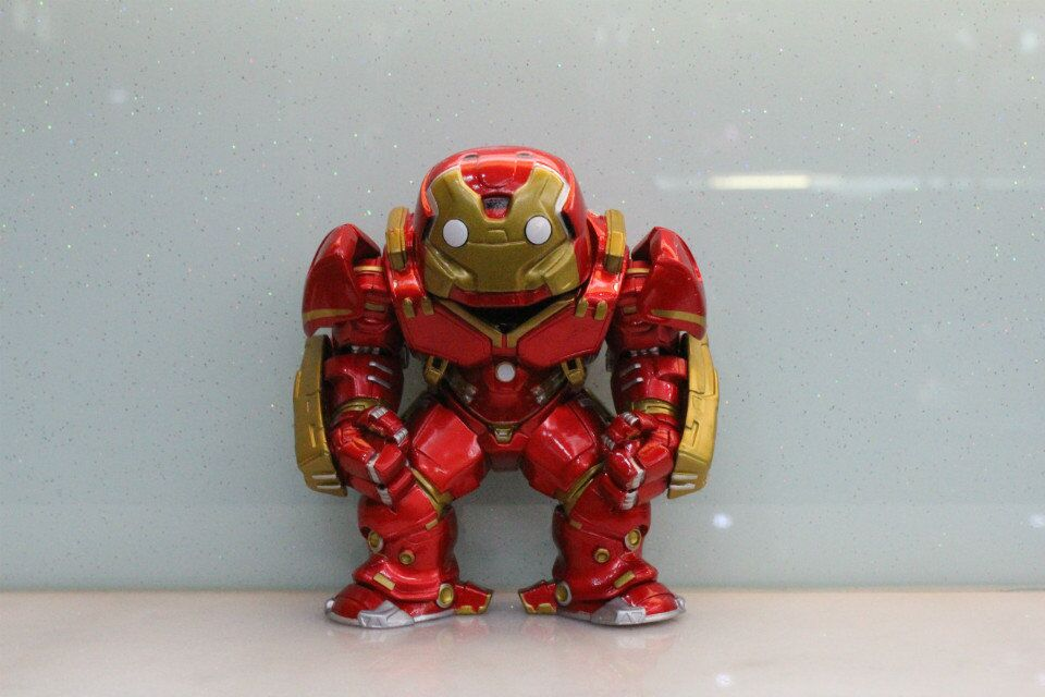 Customized action figure toys HulkBuster