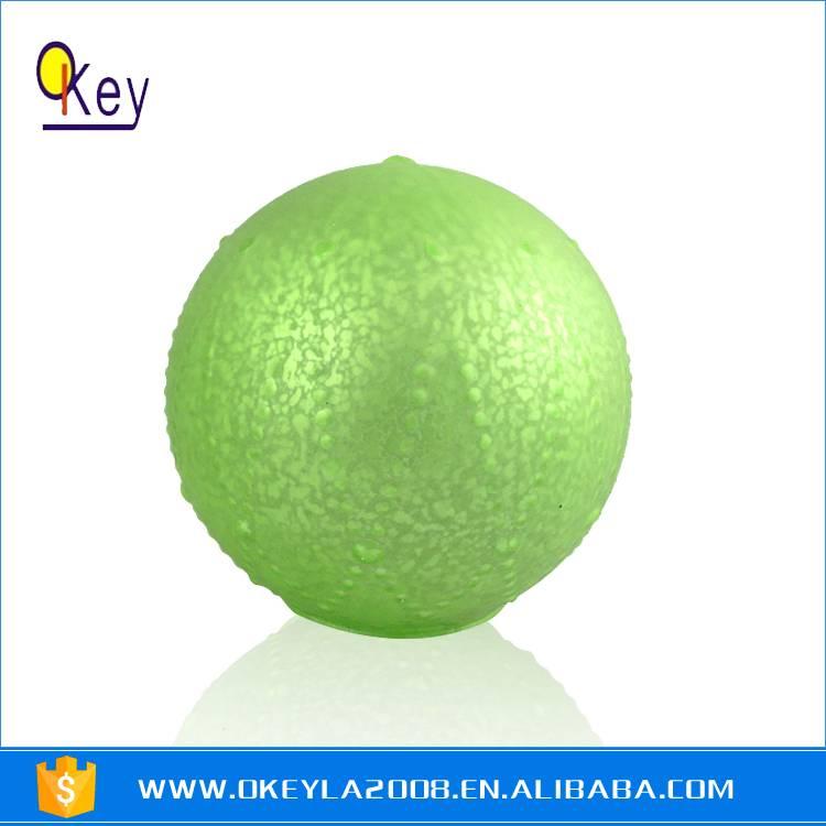 Green Painting Battery LED Light Glass Balls For Sale