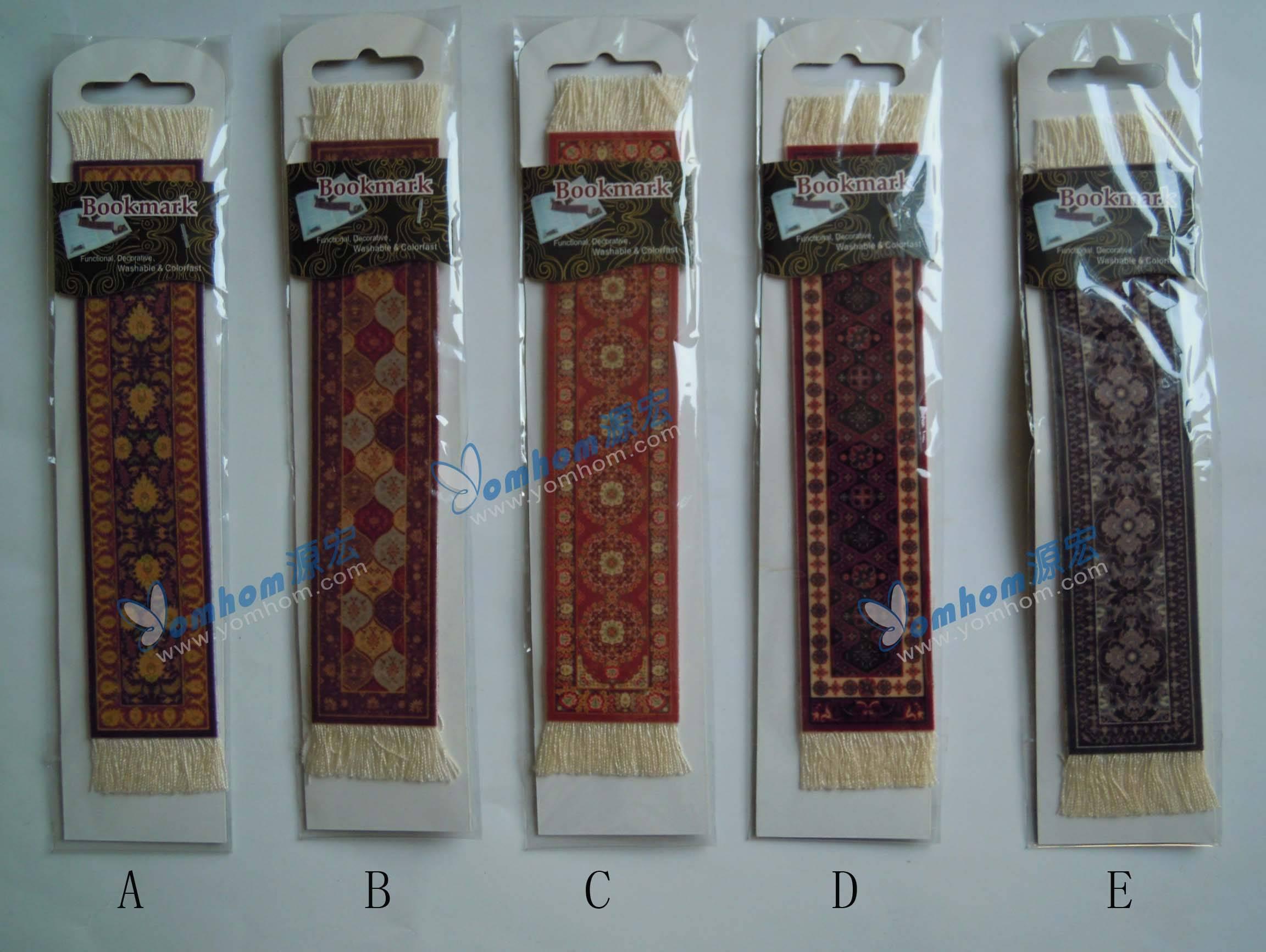 oriental persian rug bookmarks