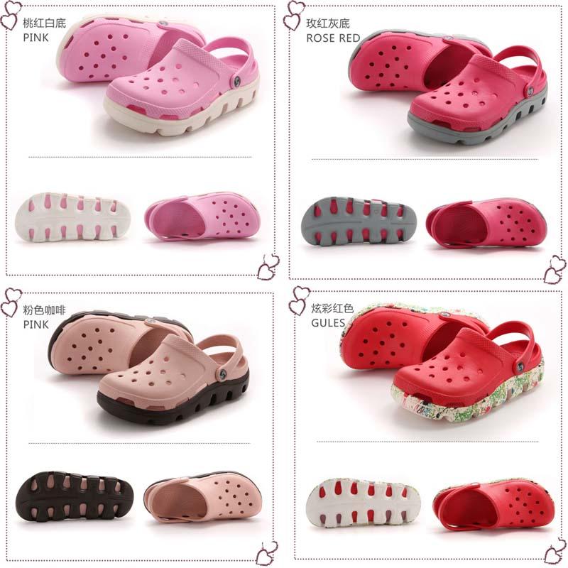 Summer rubber garden shoes sportful clogs 2017