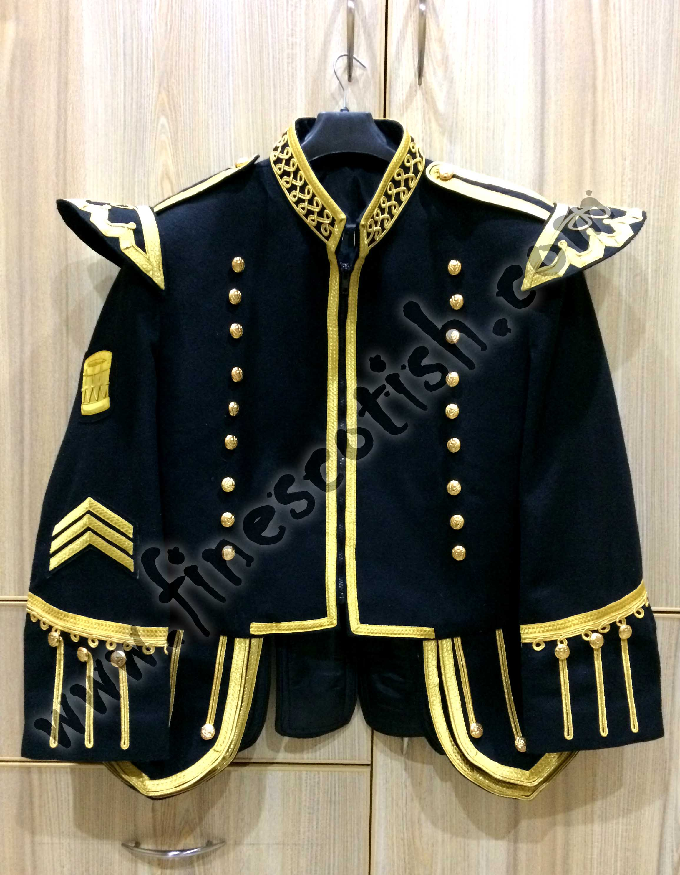 Military Doublet Jacket for Drum Major