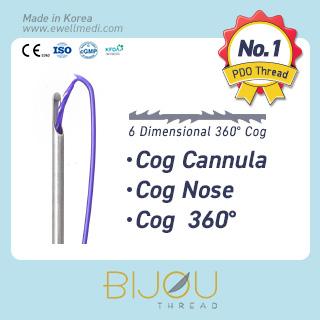 Lifting Thread Cog Cannula, Nose, 360 degree (PDO Cog)