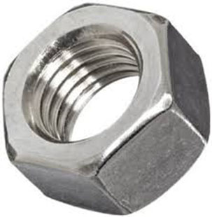 Inconel 601 UNS N06601 Hex Nuts