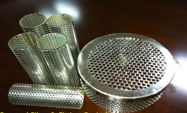 Stainless Steel Perforated Plate Test Sieves