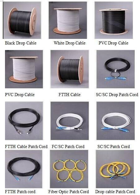 FTTH Patch Cord / Drop Cable