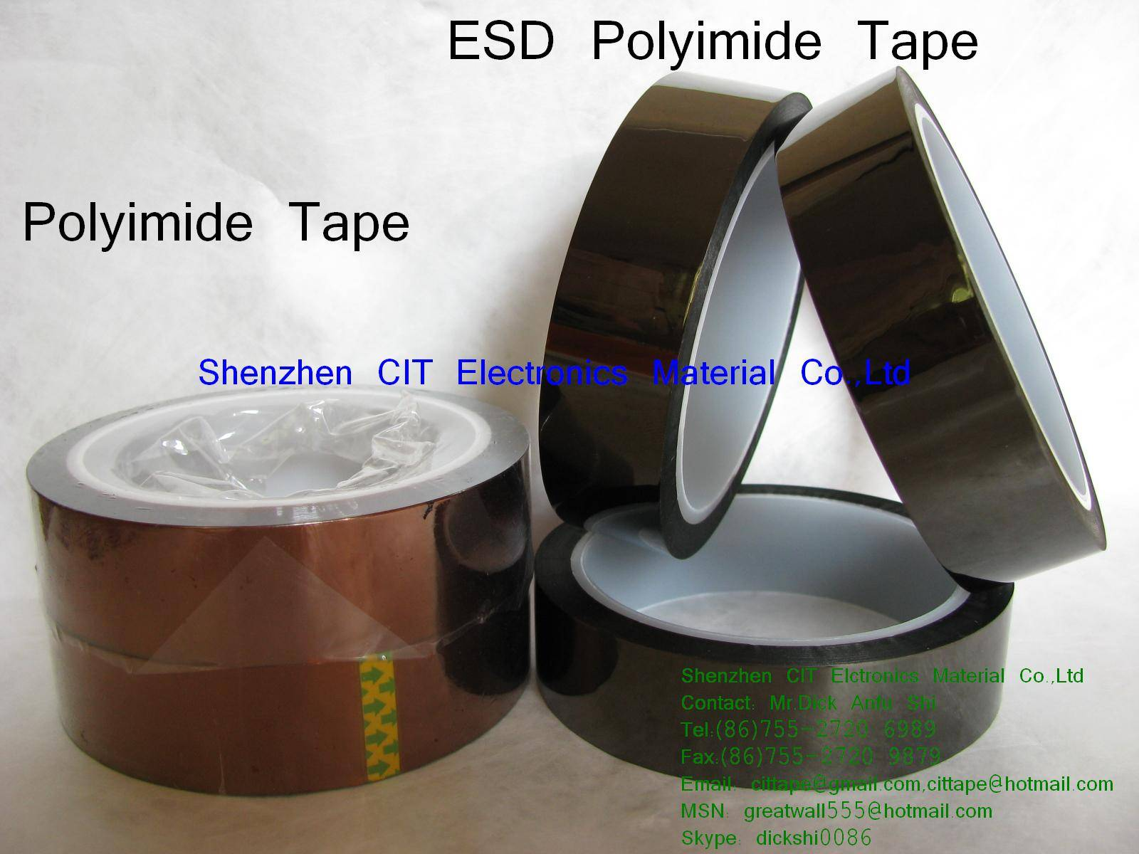 ESD Polyimide tape