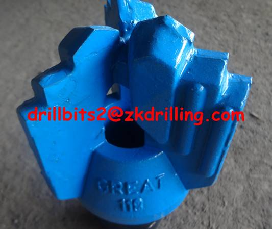 118mm GREAT Step drag bits for waterwell drilling