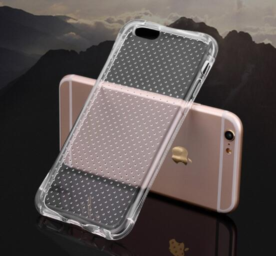 Silicone Transparent Phone Cover for Iphone6, Iphone6s