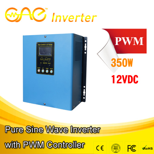 Solar Powered Inverter 350 watt 12v 20A PWM solar ground mounting system INVERTER