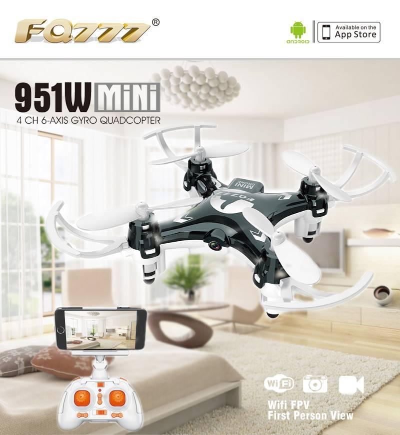 BBM-D51W mini drone / quadcopter camera wifi FPV 4CH 6-axis gyro