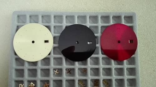 Sunrays pattern men's date-just brass watch dial