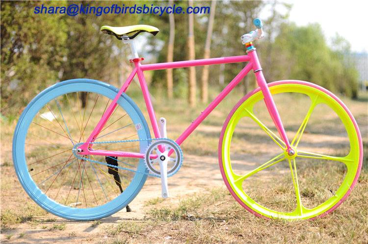 single speed bicycle Integrated wheel fixed gear bike fixie bike chinese suppliers