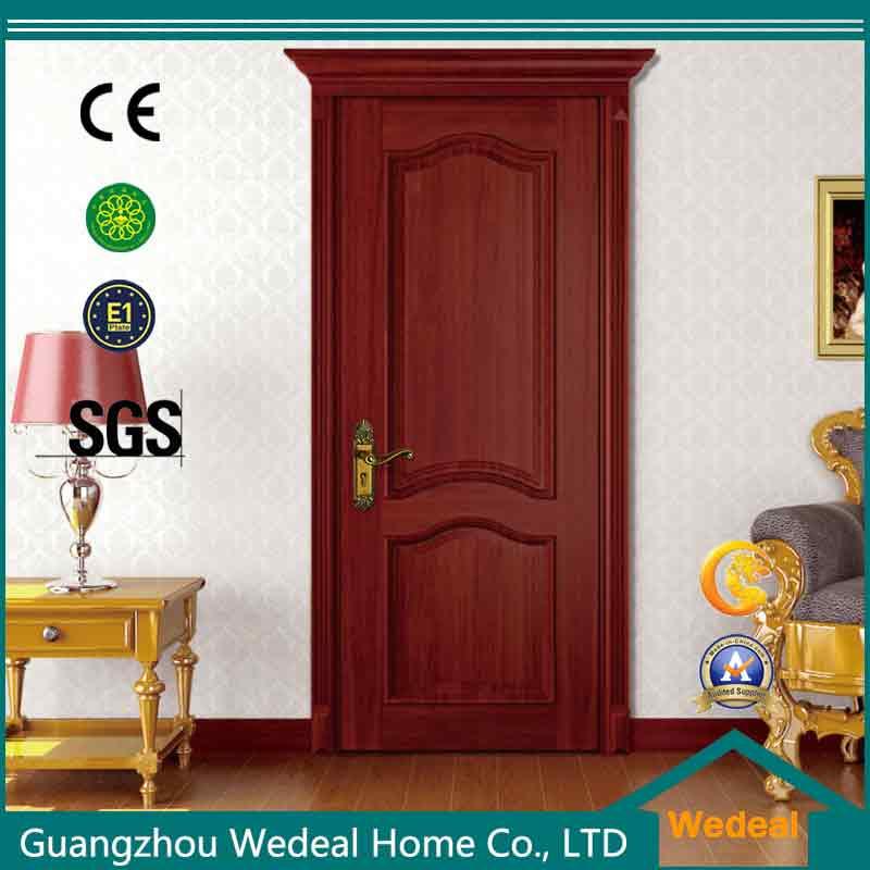 Prehung Melamine PVC MDF Interior Composite Wooden Door for Villa Project (WDHO36)