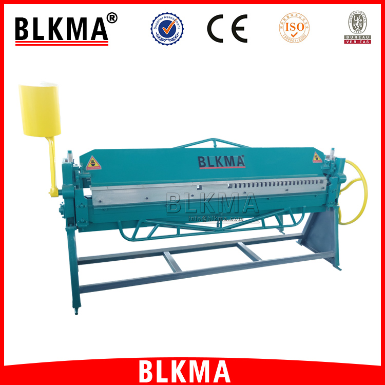 BLKMA air duct pipe making machine manual hand folding machine