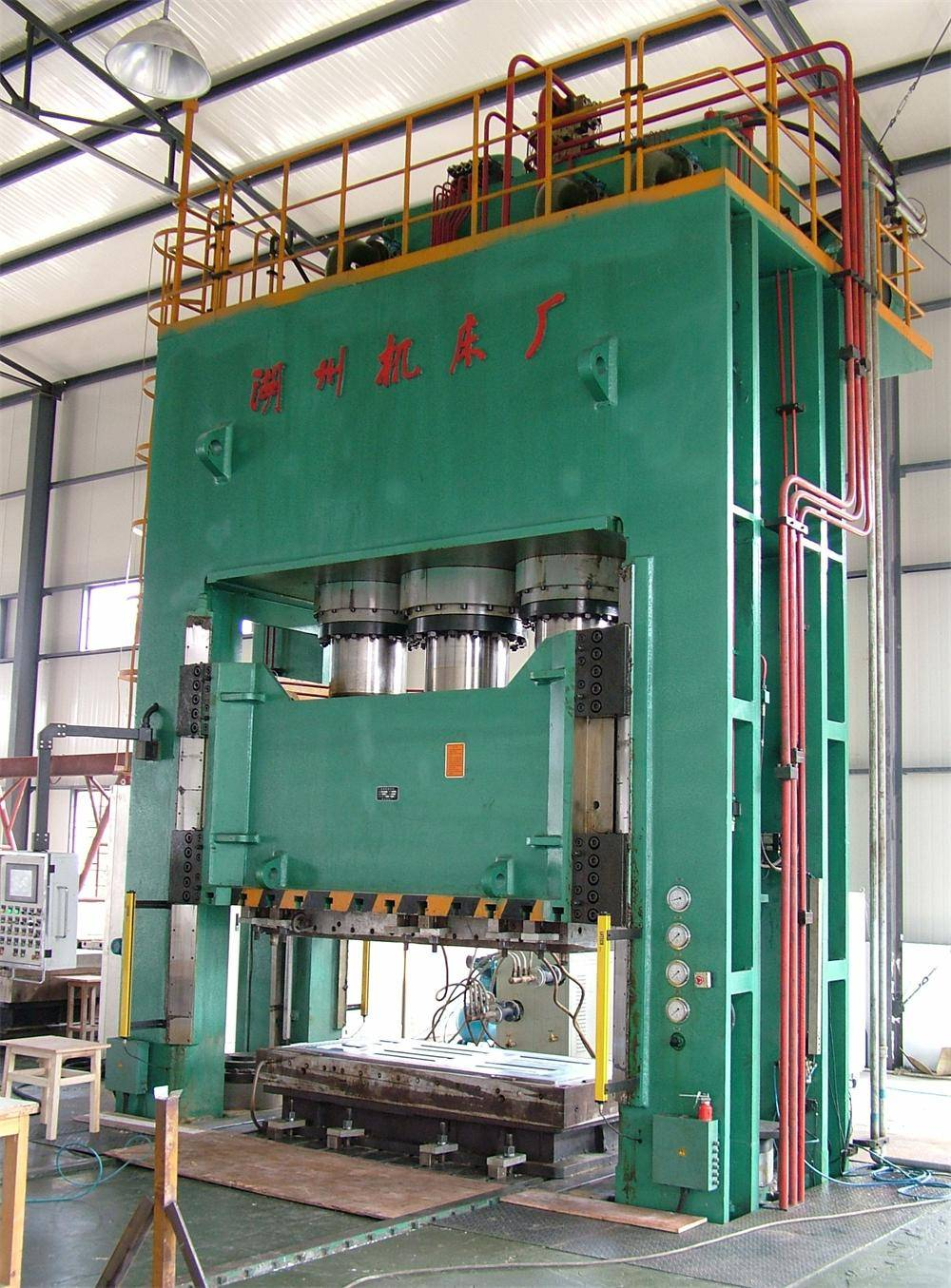 HJ078 Serial Glass Fiber Reinforced Plastic Hydraulic Press