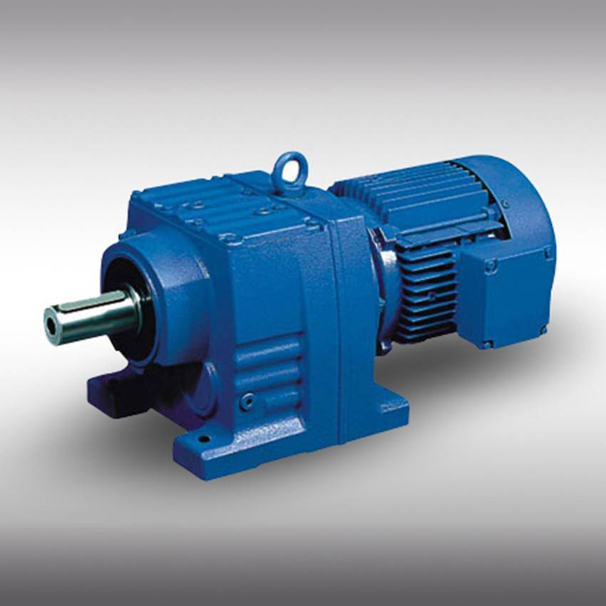 High Efficency R Series Helical Gearbox From China