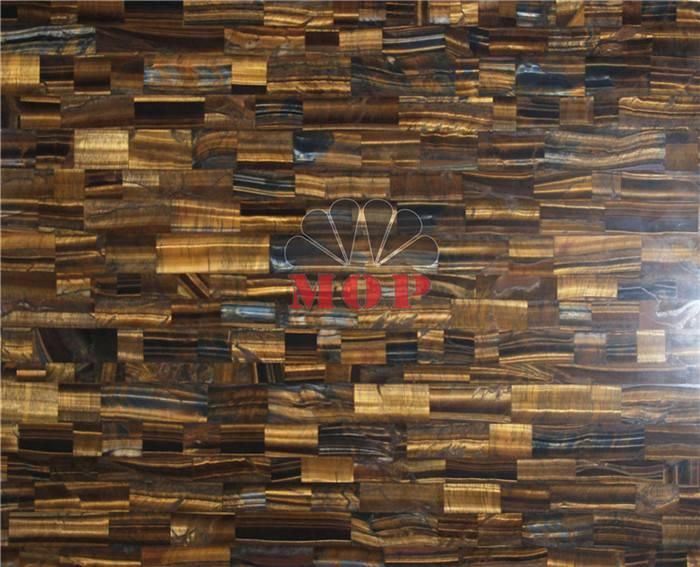 High Quality tiger's eye stone board countertops villa