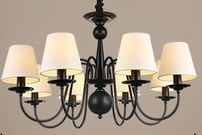 chandelier pendant lamp drop light Modern American style