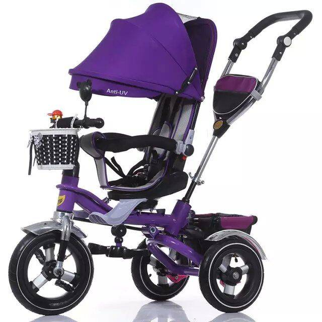 QJ-525 4 in 1 tricycle for 2 to 5 years old /3 wheels ride on / Qiangjiu Bicycle Group
