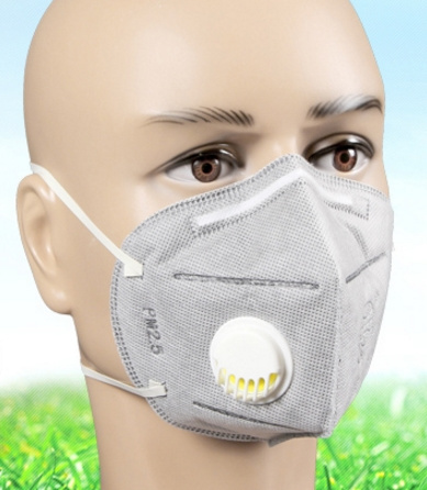 FFP2 mask with valve KN95 mask with valve